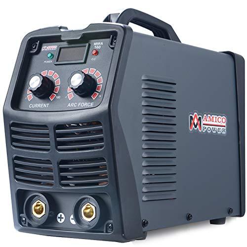 MMA-160, 160 Amp Stick ARC DC Inverter Welder, IGBT Digital Display LCD 120V & 240V Dual Voltage Welding
