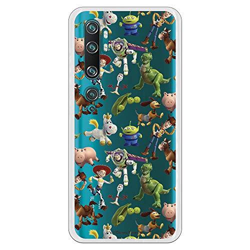 Funda para Xiaomi Mi Note 10-10 Pro Oficial de Toy Story Muñecos Toy Story Siluetas para Proteger tu móvil. Carcasa para Xiaomi de Silicona Flexible con Licencia Oficial de Disney.