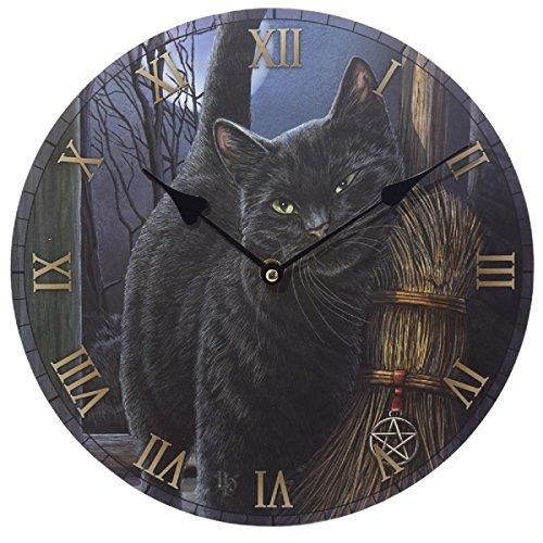 Bilderuhr Magische Katze Lisa Parker