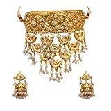 GemsOnClick Mujer chapado en oro-cobre redonda White Pearl