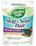 Garden Safe 4536 Slug & Snail Bait (HG-4536) (2 lb), Case Pack of 1, Brown/A