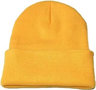 Nicircle ニット帽 春秋冬 シンプル コットン 厚手 ファッション 男女兼用 大きいサイズ 登山 釣り フリーサイズ 保温 自転車 旅行 防寒対策 暖かい クリスマス プレゼント 誕生日 Man/Women Warm Outdoor Fashion Hat 17色
