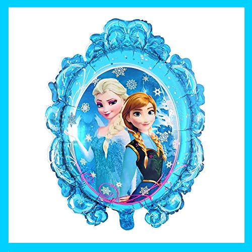 Ballon Folienballon Luftballon - Prinzessin Sofia - Tinkerbell - Anna - ELSA - Bell - Arielle . Hello Kitty Schneekönigin Kindergeburtstag Deko für Mädchen Kinder Feier (Anna und ELSA)
