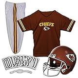 Franklin Sports Kansas City Chiefs Kids Football Uniform Set - NFL Youth Football Costume for Boys & Girls -...