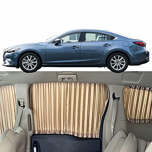QCYP Parasol De Coche Adecuado para Mazda 6 Atenza 5-Ventanas Parasol para Parabrisas Cortinas De Sombra