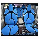 ZMCOV Kompatibel Mit Personality Auto-Sitzkissen, Atmungsaktiv, Angenehm Auf Der Haut, Fit Nur Installation Für Eine Person Ohne Hilfe, TeslaModel3,ModelS,J