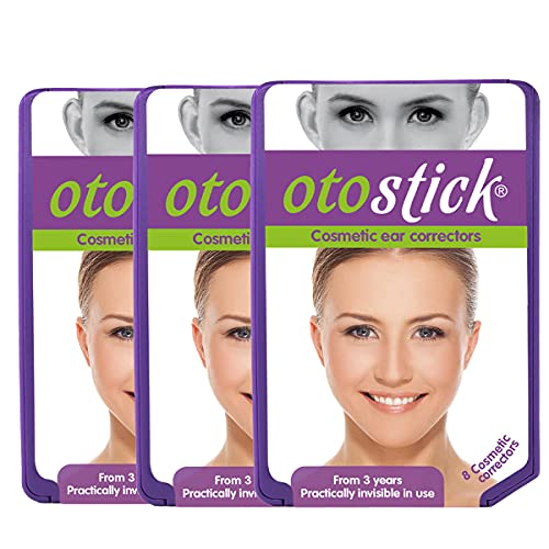 Otostick PACK-3   Cosmetic Ear corrector   It Contains 8 Correctors   From 3 Years of Age