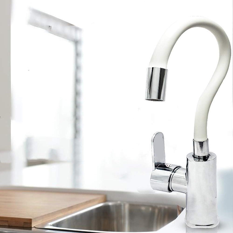 Wasserhahn Heie Und Kalte Universal-Runde T-Stück Kupfer Heie Und Kalte Becken-Wannen-Küchen-Hahn