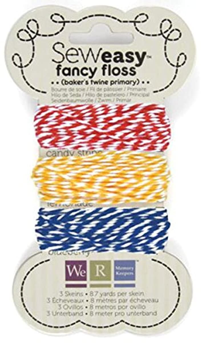 We R Memory Keepers 71158-2 Sew Easy Baker's Twine for Paper Crafting, Primary