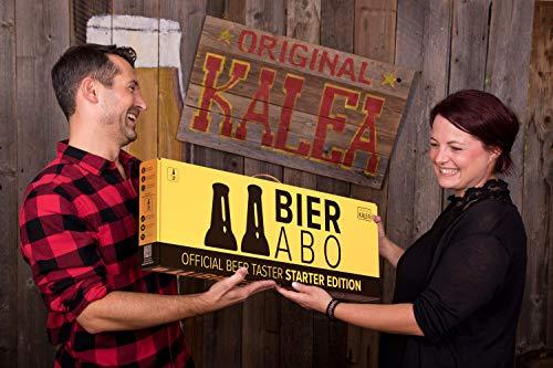 Beer Tasting Abo | monatlich 12 Bier-Spezialitäten verkosten | Inkl. Verkostungsguide, Bierrezepte und Bierbeschreibung | Geschenk-Idee | Männergeschenk | Geburtstagsgeschenk