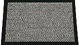 ID Mate 9015010 Cahors/Florac Alfombra-Felpudo Fibra de Polipropileno y PVC, 150 x 90 cm x 0,67, Gris, 90 x 150 cm