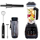 Commercial Blender,smoothie blender, High power 2200W High Speed 40000r/minute,72 Oz,Smoothie Maker for Crushing Ice, Frozen Dessert, Soup,Fish
