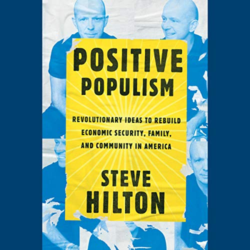 Positive Populism audiobook cover art