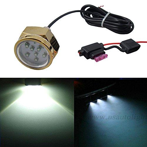 LED Unterwasser-Abflussstöpsel-Licht – blaue Farbe 27 W LED Abflussstopfen Boot Yacht Unterwasser-Licht für Angeln Schwimmen Tauchen Boots-Lampe