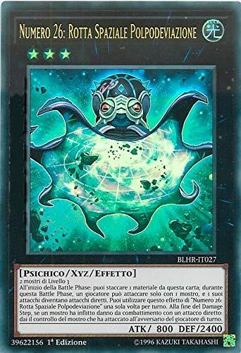 Carta Singola Yu-Gi-Oh - Numero 26: Rotta Spaziale Polpodeviazione - Ultra Rara - BLHR-IT027 Italiano