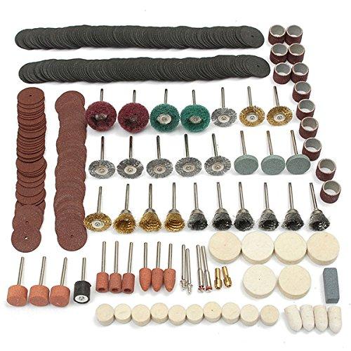 EsportsMJJ 347 stks Rotary Tool Accessoires Set voor Dremel slijpen schuren Polijstmiddel
