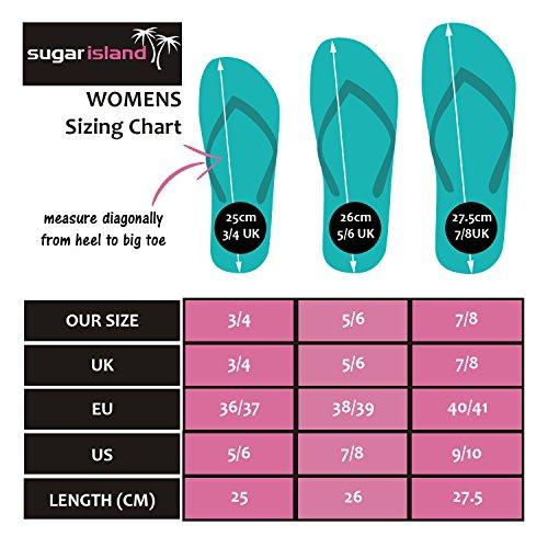 SUGAR ISLAND® Damen und Herren Flip Flop - 2