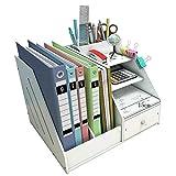 Bandeja de documentos Soporte para archivos Bricolaje Oficina Material escolar Accesorios de escritorio Papelería