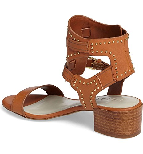 1. State Women's Rylen Studded Leather Sandals Tan (9)