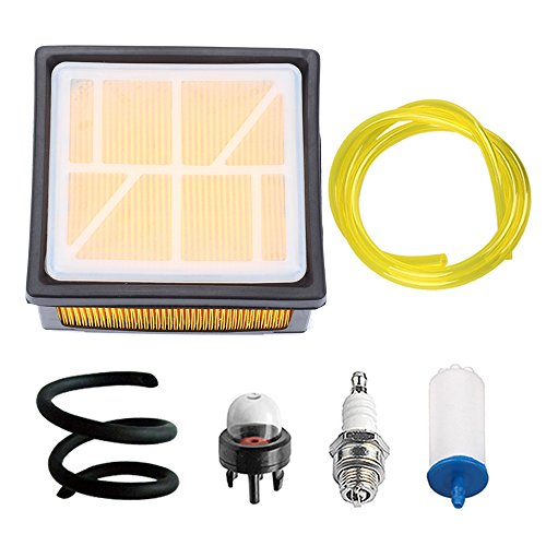 Hipa 574362302 Air Filter Compatible with K760 K 760 Concrete Cut Off Saw Tune Up Kit 574362301 506264101 Fuel Line Primer Bulb