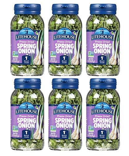 Litehouse Freeze Dried Spring Onion, 0.22 Ounce, 6-Pack
