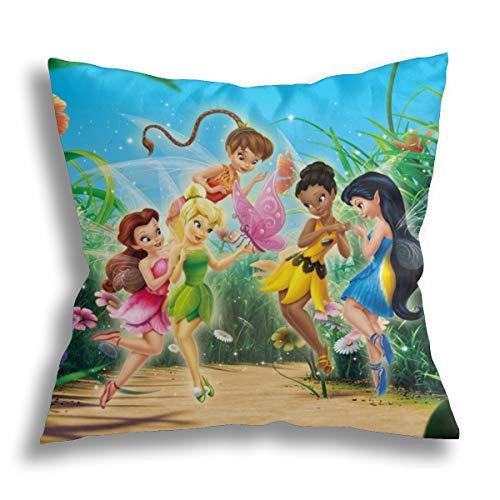 Funda de almohada decorativa para el hogar para hombres/mujeres, salón, dormitorio, sofá, silla, funda de almohada de 18 x 18 pulgadas
