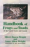 Handbook of Frogs and Toads of the United States and Canada (Comstock Classic Handbooks)