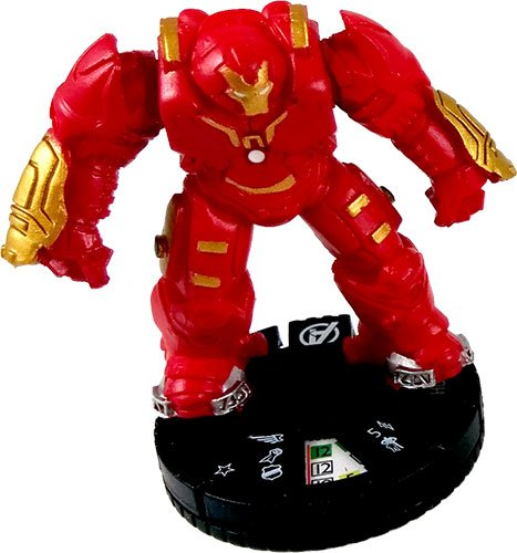 Heroclix Marvel Avengers Age of Ultron #017 Hulkbuster Figure Complete with Card (Chase)