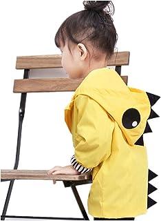 Anti-Stain Easy Clean Playwear Unisex Toddler Kids Duck Dinosaur Shark Animal Raincoat Cute Cosplay Party Jacket Windbreaker Baby Fall Winter School Oufits(24M, Quacker)