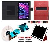 Hülle für Medion Lifetab P10506 Tasche Cover Case Bumper | in Rot Leder | Testsieger