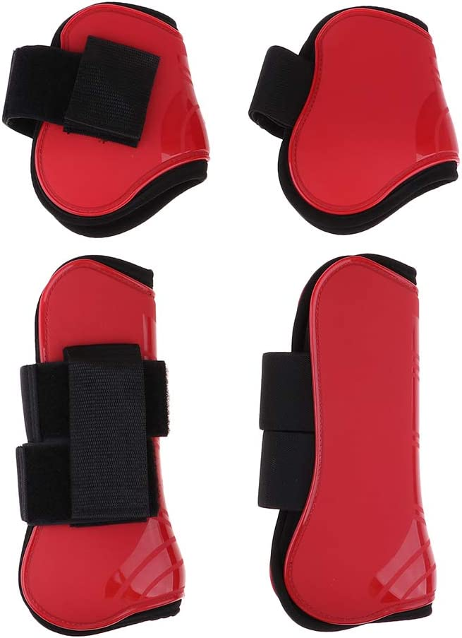 2 Pairs Horse Boots PU Riding Cheap Hind Protect 2021 autumn and winter new Foreleg