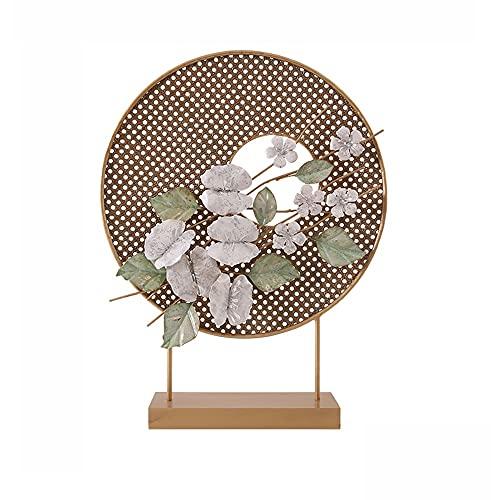YUYI Círculo de la Escultura de Metal, Escultura contemporánea Regalo Ideal para la Boda, el hogar, el Favor de la Fiesta, el SPA, el Reiki, la meditación, la configuración del baño