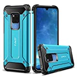 J&D Case Compatible for Huawei Mate 20 X Case, Heavy Duty