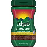 Folgers Roast Crystal Instant Coffee, Classic Decaf, 3 Ounce