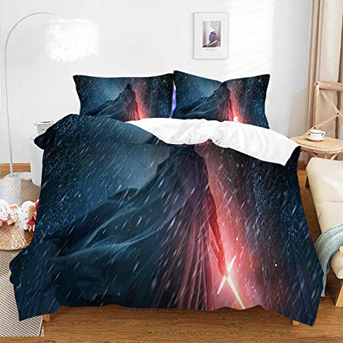 King Size Duvet Cover Set,3D Duvet Cover with Pillow Cover Bedding Set Cartoon Anime One Piece Bed Set for Kids and Adults Bedroom Decor-A-056_230*220cm(3pcs)