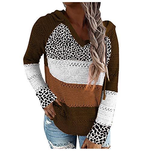 Berimaterry ropa mujer casual sudaderas con capucha de Otoño sudaderas de talla grande para mujer blusa...