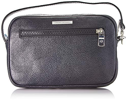 Armani ExchangeMoney BagHombreCarterasNegro (Negro/Black)14x5x22 Centimeters (B x H x T)