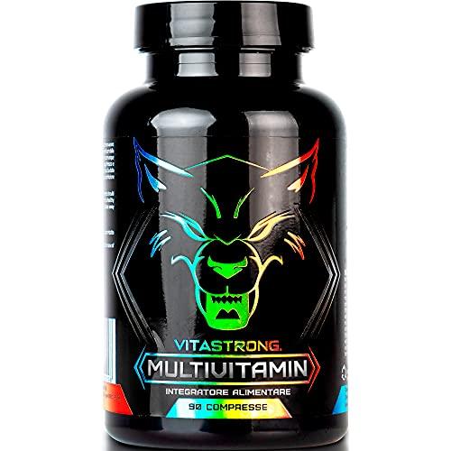 Vitastrong Multivitamin   Integratore Multivitaminico Completo   100% Naturale e Puro   13 Vitamine Ad Alto Dosaggio   Made in Italy