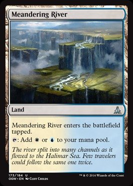 Magic The Gathering - Meandering River (173/184) - Oath of The Gatewatch