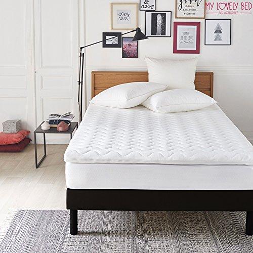 My Lovely Bed - Correttore Materasso Memory | Topper Memory Foam Matrimoniale - Matrimoniale XXL (180x200 cm) - Altezza 5CM - Ergonomico - Rinnova il materasso
