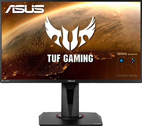 ASUS TUF Gaming VG258QM Gaming Monitor - 24.5 inch Full HD (1920x1080), 280Hz*, 0.5ms (GTG), Extreme Low Motion Blur Sync, G-SYNC Compatible, DisplayHDR 400