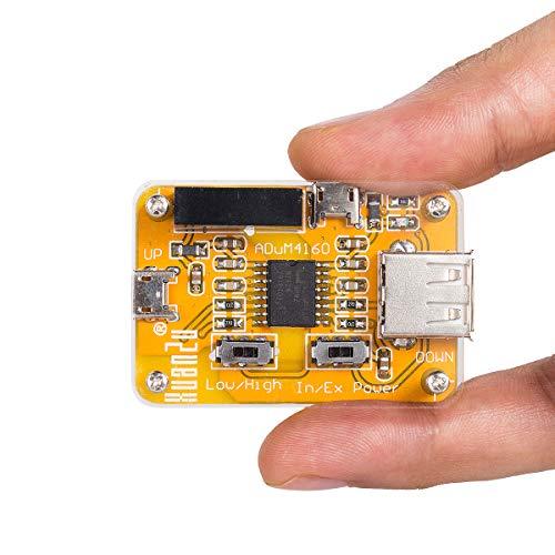 Nobsound USB to USB Isolator Module Audio Noise Eliminator Industrial Isolator Protection USB-Störungsfilter für Daten und Strom