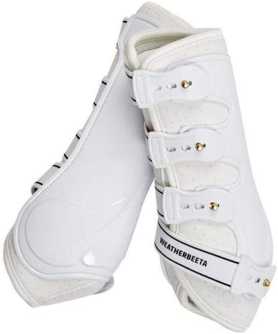 Black Weatherbeeta Hard Shell Dressage Boots Cob