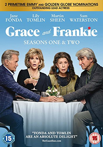 Grace and Frankie Seasons 1-2 [DVD] UK-Import, Sprache-Englisch