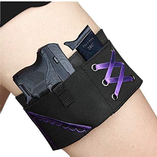 Conceal Thigh Gun Holster,Women Hi'd'den Under...