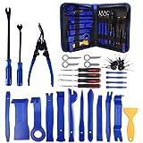 Herramientas Kit Desmontar Coche, Juego de herramientas de eliminación de molduras automáticas Juego de herramientas de palanca de reparación de radio de tablero de automóvil