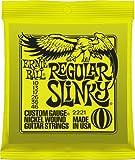 Ernie Ball 2221 Regular Slinky Electric Guitar Strings (10-46), 3 Packs