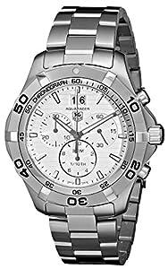 TAG Heuer Men's CAF101F.BA0821 Aquaracer Quartz Silver Chronograph Dial Watch image