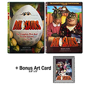 Dinosaurs  Complete TV Series Seasons 1-4 DVD Collection with Bonus