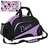 kilofly Girl's Ballet Dance Sports Gym Duffel Bag